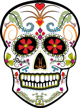 死者の頭蓋骨ベクトルの日