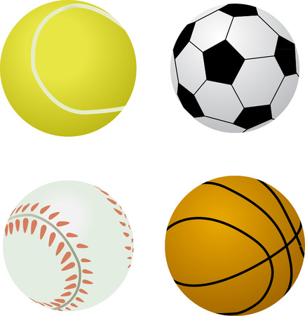 royalty free stock photos: Assorted Sports Balls