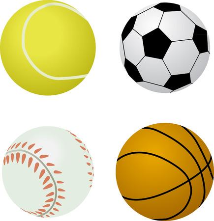 futbol: Assorted Sports Balls