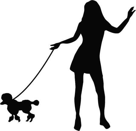 obedience: Dog training Obedience: Command: Go at the leash!