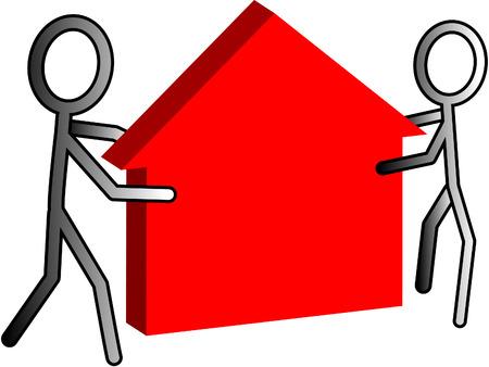real estate: Real estate Illustration