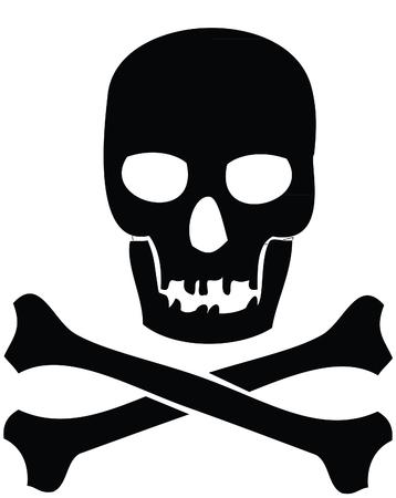 crossbones: Crossbones and skull