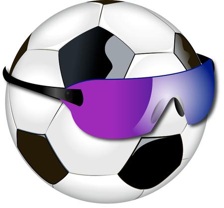 futbol: Soccer Ball Illustration