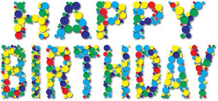 white party: Happy Birthday