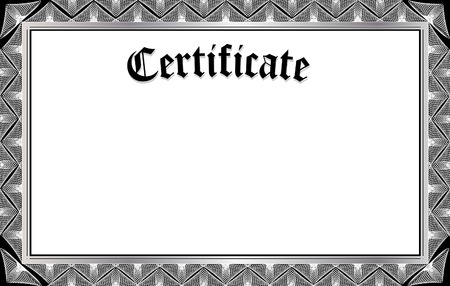 official: certificate