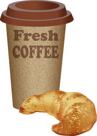 royalty free stock photos: coffee cup Illustration