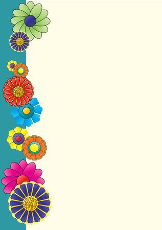 free background: Flower Page Illustration