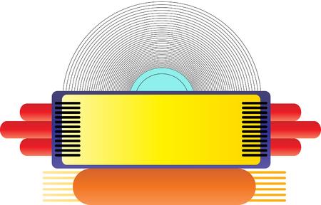 rockabilly: Jukebox Illustration