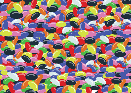 jelly beans: Jelly Beans Illustration