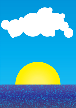 rolling landscape: sunrise