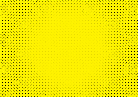 fade out: Halftone  illustration