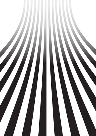 Black and white abstract striped background