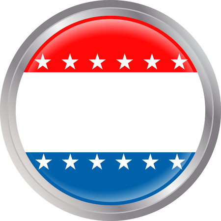 stock clipart icons: USA Badge