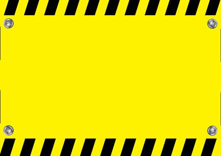 warning sign caution Çizim