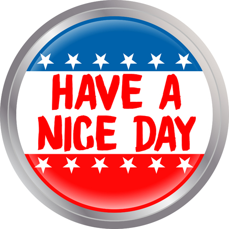 Usa have a nice day Illustration