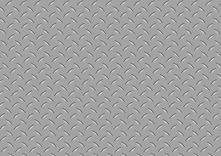 Textura de metal Ilustración de vector