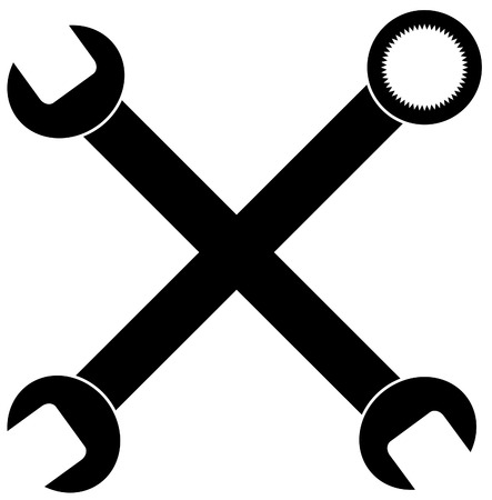 wrenches: crossed wrenches