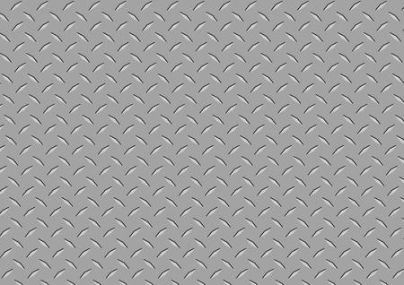 Diamond Plate Texture Illustration