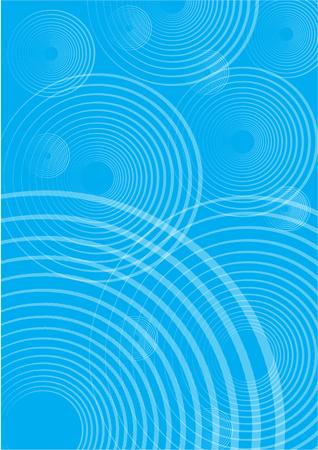 drops of water: Rain drops in water