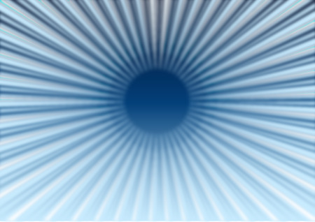 Abstract Blue Starburst Background