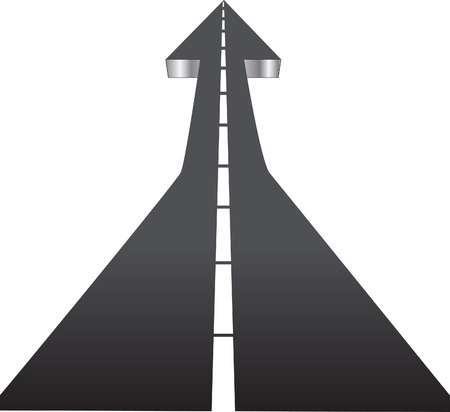succeeding: Road to Success - Up Arrow