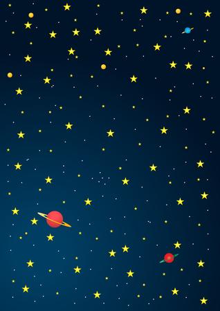 Antecedentes dibujos animados del espacio exterior