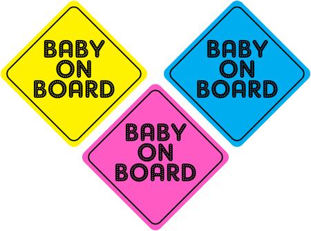 bebe a bordo: BEB� A BORDO