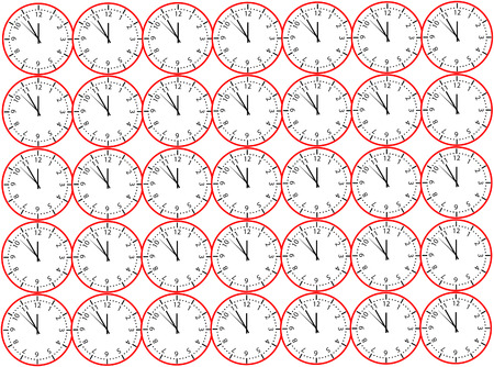 dial: Clock face background Illustration