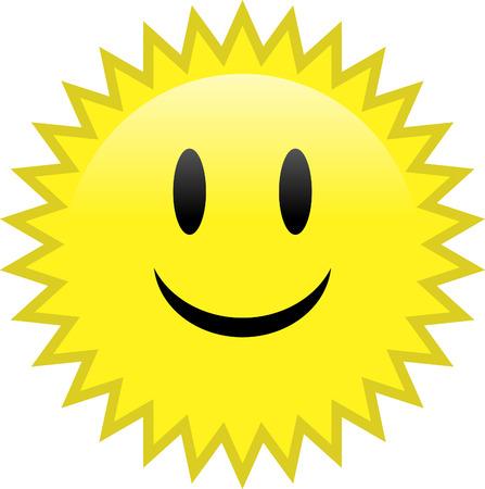 happy: Happy sun
