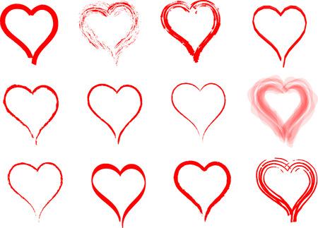 abstract heart: hearts