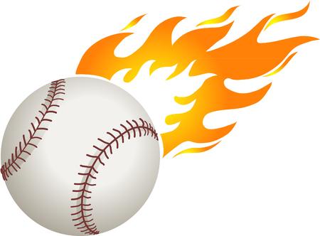 棒球与火焰