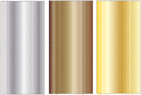 aluminum: Aluminum, bronze and brass stitched textures