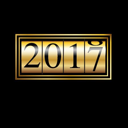 year: new year 2017
