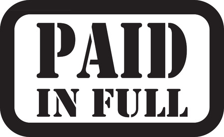 paid: PAID IN FULL