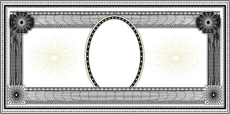 Bank note Ilustração