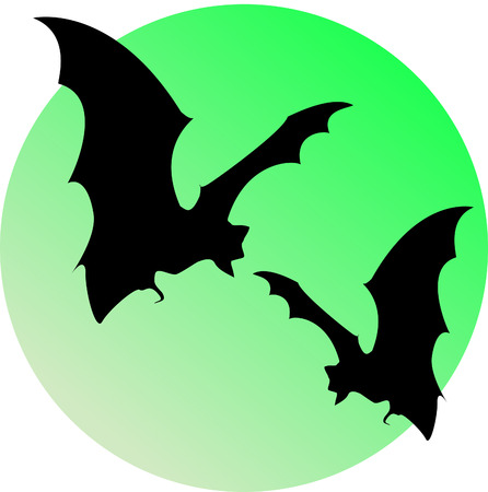 gnarled: bats and moon