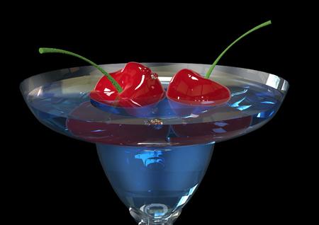 original single: Cocktail Stock Photo
