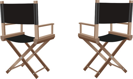 folding screens: Director chair