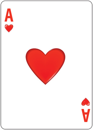 Ace of Hearts 矢量图像