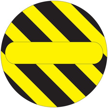 yellow beware: Warning