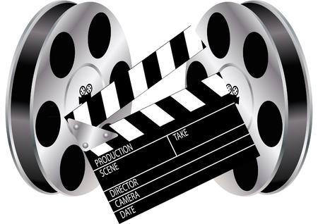 film and clapper board