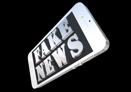 hoax: Fake news smart phone
