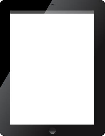 I Pad tablet Illustration