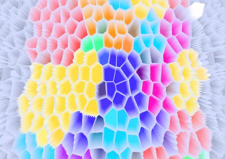 paletas de caramelo: resumen de color de fondo Foto de archivo
