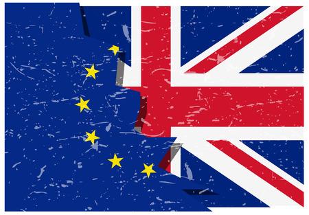 skepticism: Brexit Flags