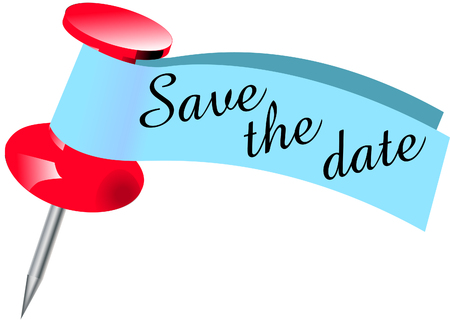 Save the date Pin