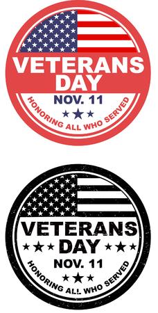 Botón del día de veteranos