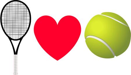 I love Tennis.