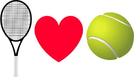 emotional stress: I love Tennis.