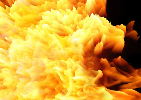 conflagration: Abstract fire background